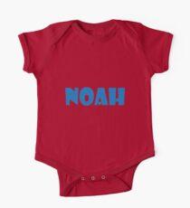 Noah (Blue) One Piece - Short Sleeve