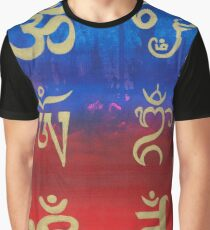 Om (Universal sound) in different languages Graphic T-Shirt