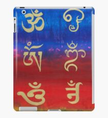 Om (Universal sound) in different languages iPad Case/Skin