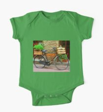Old bicycle in Tuscany One Piece - Short Sleeve