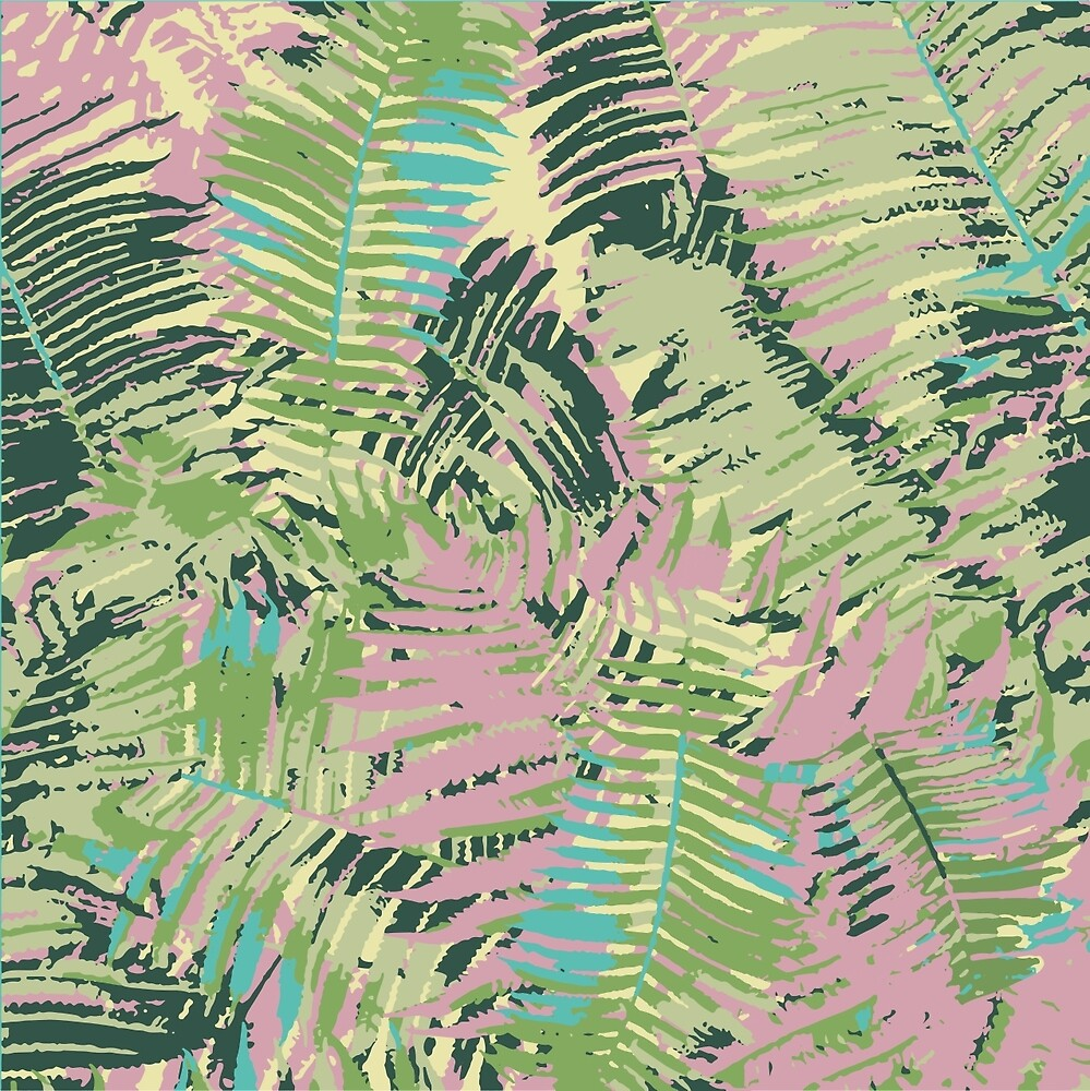 Tropical Textures by Cathrin Gressieker