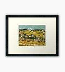 Vincent Van Gogh -  Harvest, June 1888 - 1888  Framed Print