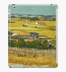 Vincent Van Gogh -  Harvest, June 1888 - 1888  iPad Case/Skin