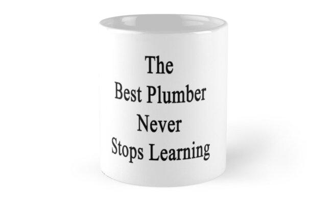 The Best Plumber Never Stops Learning  by supernova23