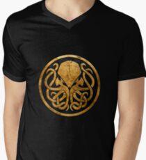 Cthulhu  Men's V-Neck T-Shirt