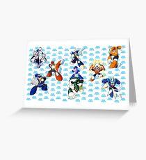 Mega Man 3 Greeting Card