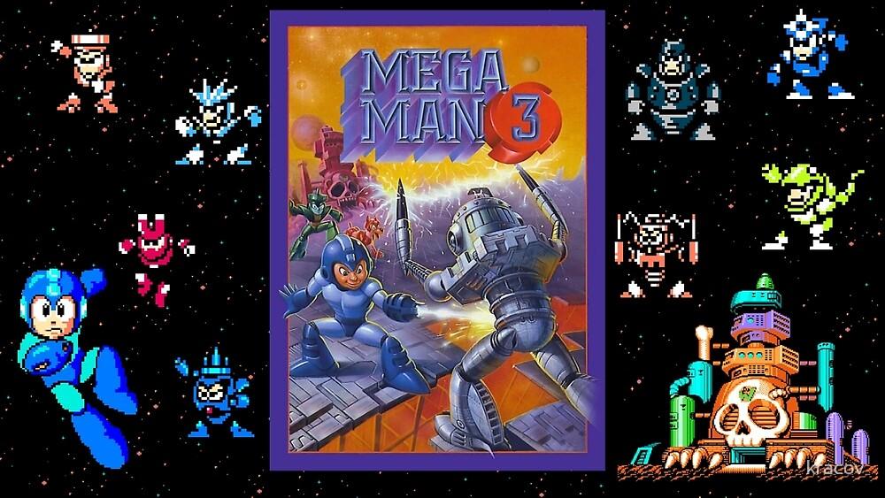 Mega Man 3 painting by kracov