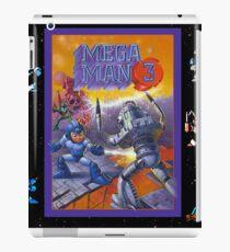 Mega Man 3 painting iPad Case/Skin