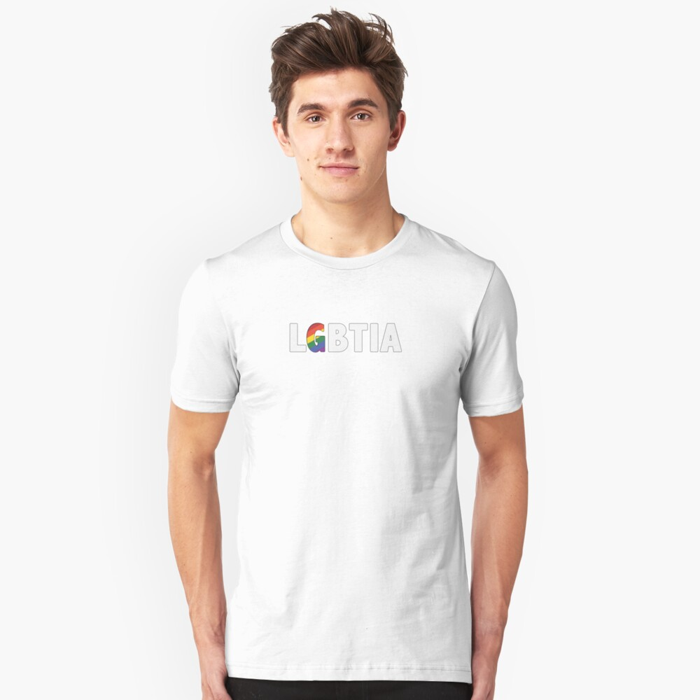 Putting the G in LGBTIA Unisex T-Shirt Front