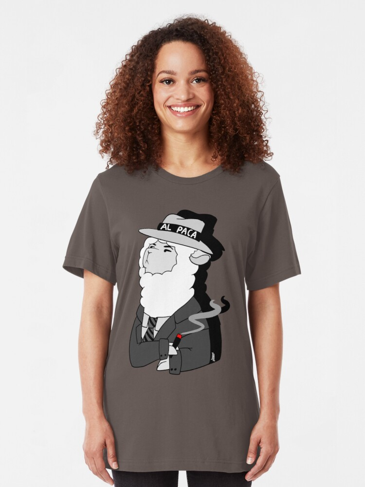 Alternative Ansicht von Al Capone Alpaca Slim Fit T-Shirt