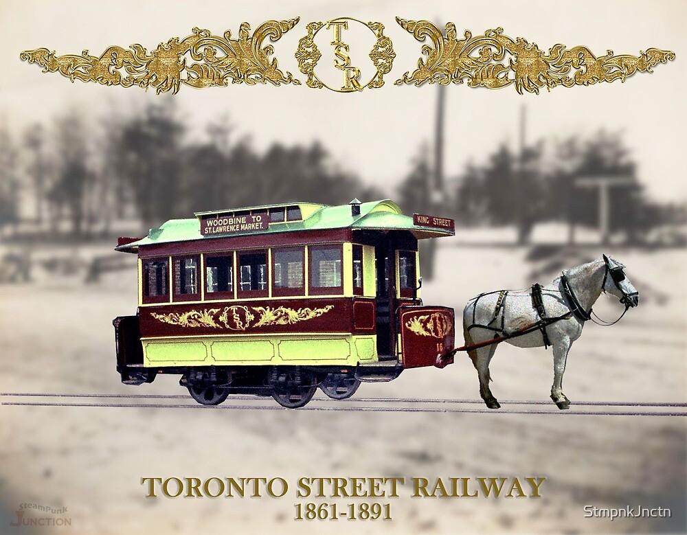 Toronto's Horse-Drawn Streetcar by StmpnkJnctn