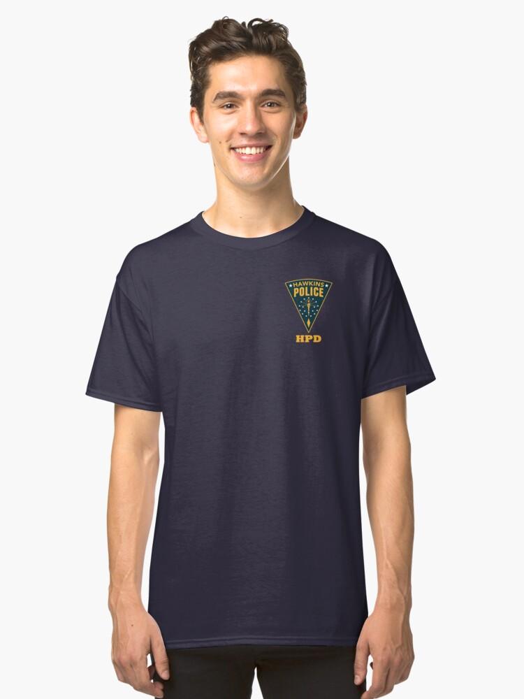 Hawkins PD Classic T-Shirt Front