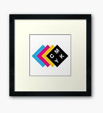 CMYK Framed Print