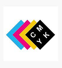 CMYK Photographic Print