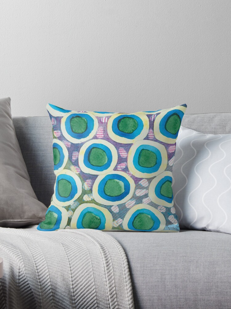 Four Directions Dot Pattern by Heidi Capitaine