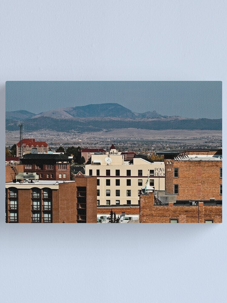 Alternate view of The Sleeping Giant Canvas Print