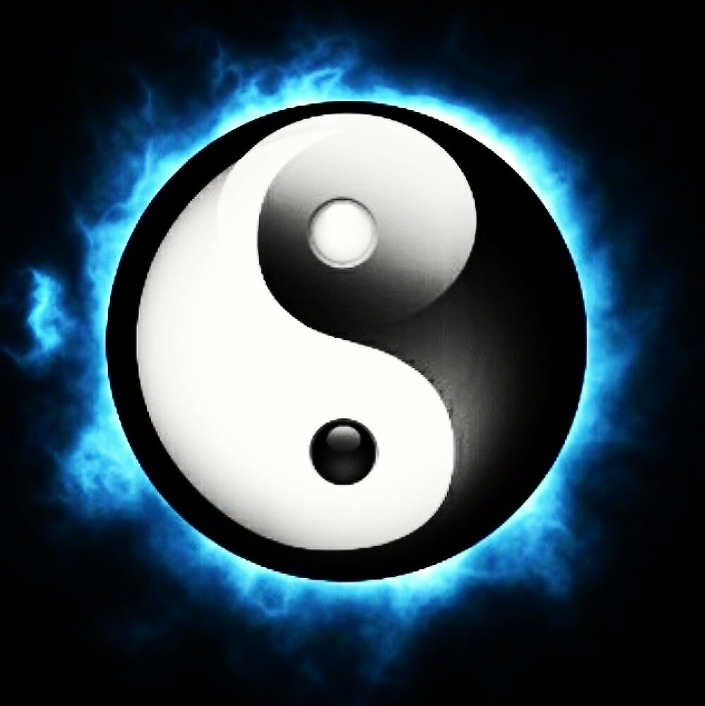 Ying and yang by Pulze