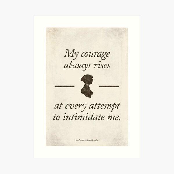 Orgullo y prejuicio de Jane Austen - cita literaria, regalo de los amantes del libro, decoración casera moderna. Lámina artística