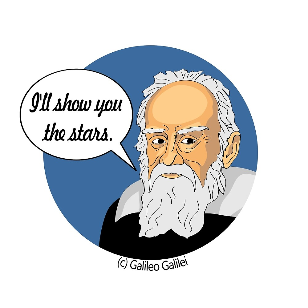 Funny science Galileo Galilei by rada26