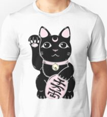 Lucky Cat Black T-Shirt