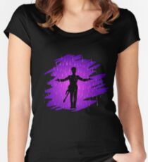 Purple Rain - Prince  Women's Fitted Scoop T-Shirt