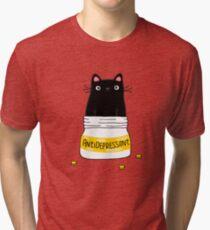 FUR ANTIDEPRESSANT Tri-blend T-Shirt