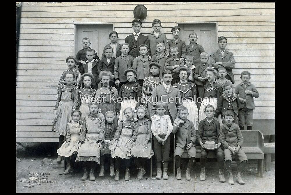 CALHOUN SCHOOL, CALLOWAY COUNTY, KENTUCKY by Don A. Howell