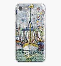 Paul Signac - Blessing Of The Tuna Fleet At Groix  iPhone Case/Skin