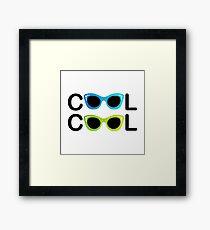cool Framed Print