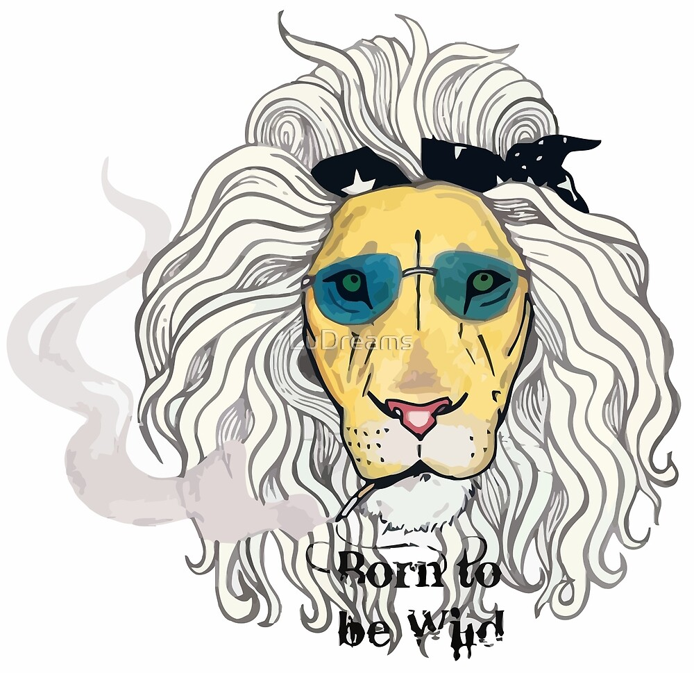 Lion Rocker (Born to be wild). by LuDreams