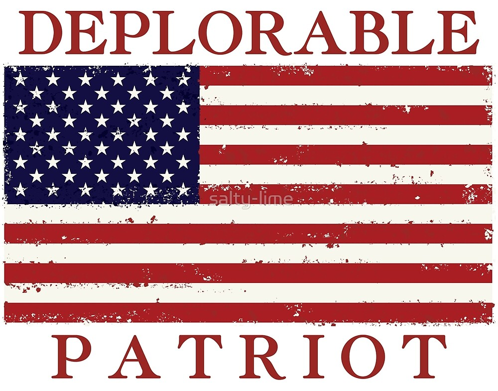Deplorable Patriot by salty-lime