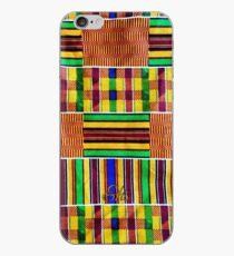 Textured Kente iPhone Case