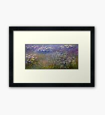 Claude Monet - Water Lilies (1915 - 1926)  Framed Print