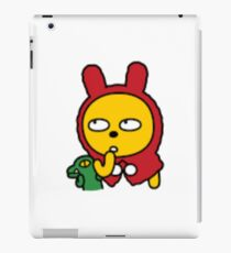 KakaoTalk Friends Muzi & Con (Red Riding Hood) iPad Case/Skin
