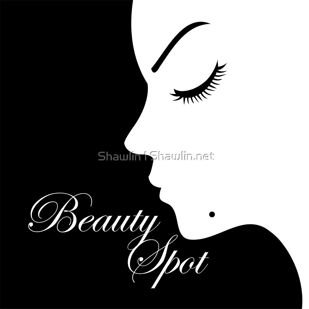 Girl with a beauty spot on chin  by Shawlin Mohd