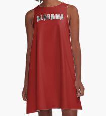 Houndstooth Alabama A-Line Dress
