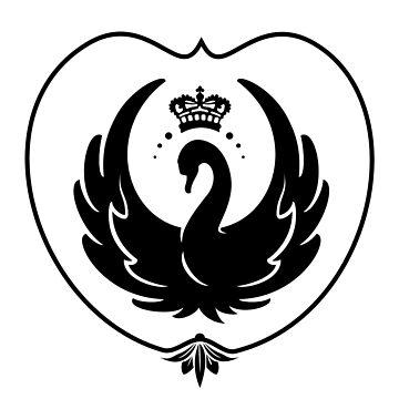 Swan Queen Crest by bgmoth