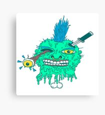 Punk Head Pete Canvas Print
