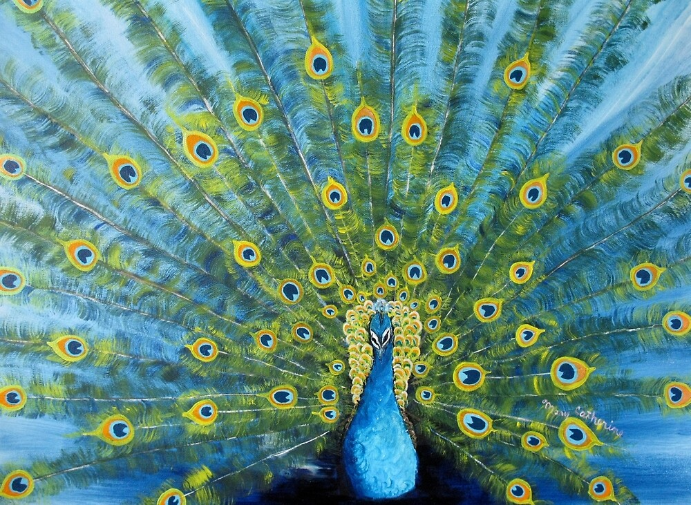 Peacock by Mary Frankenfield