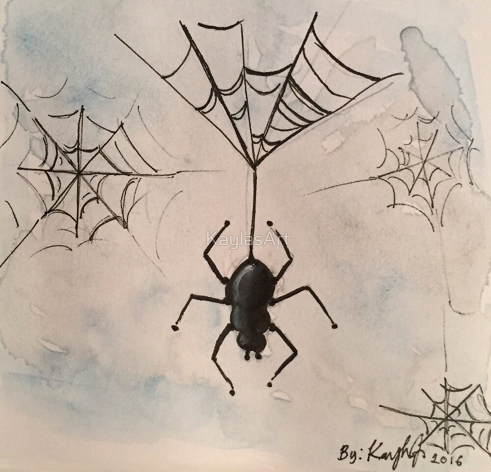Spider-scroll down to view more of my work by KaylasArt