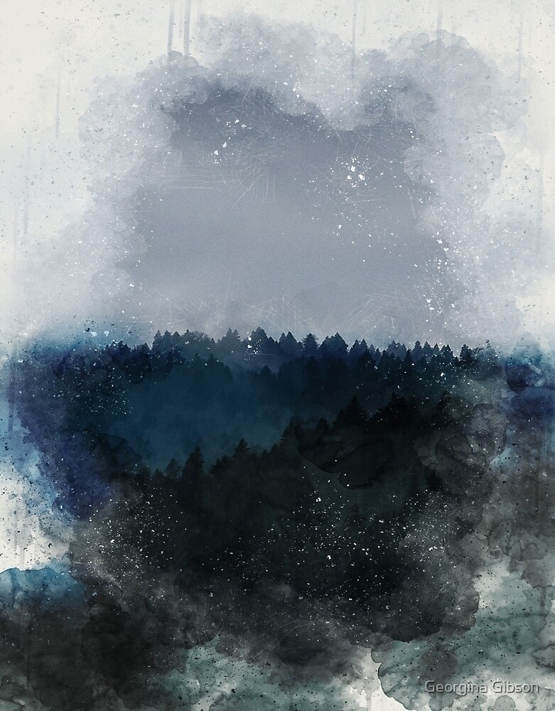 Grunge Forest by Georgina Gibson