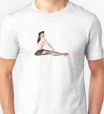 Gil Elvgren Pinup Ballerina Unisex T-Shirt