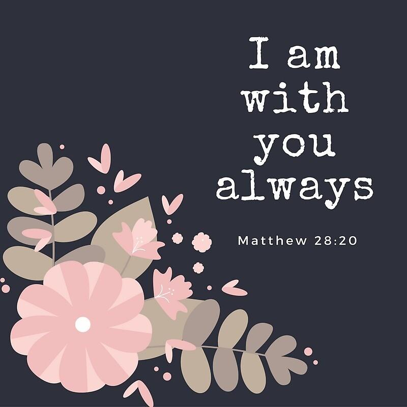I am with you always by shaepugh