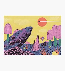 Alien Planet Photographic Print