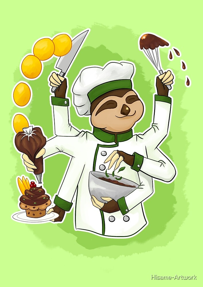 Commissions | Sloth Chef by Hisame-Artwork