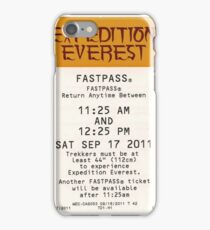 Expedition Everest iPhone Case/Skin