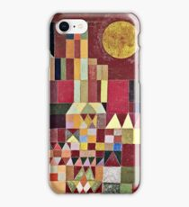 Paul Klee - Castle And Sun  iPhone Case/Skin
