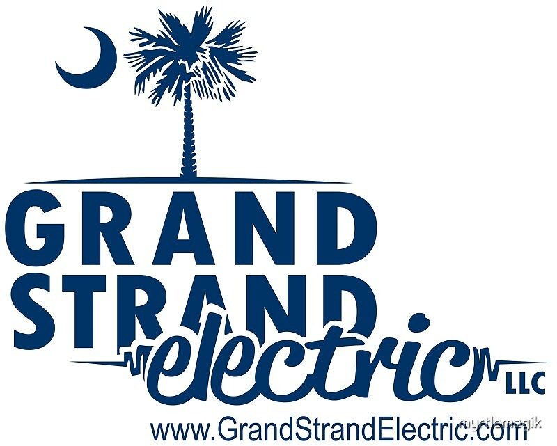Grand Strand Electric Logo Merchandise by myrtlemagik