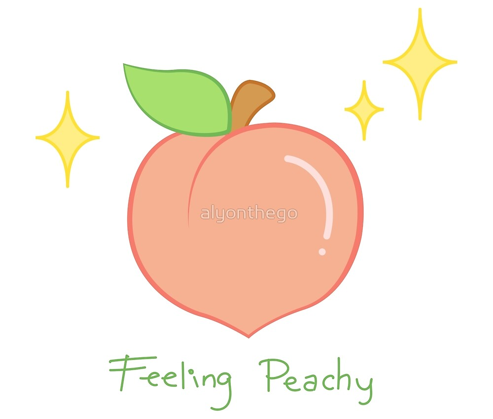 Feeling Peachy & Sparkly by alyonthego