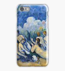 Paul Cezanne - Bathers (Les Grandes Baigneuses) (about 1894 1905)  iPhone Case/Skin